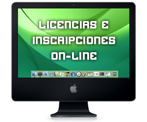Licencias e inscripciones on-line