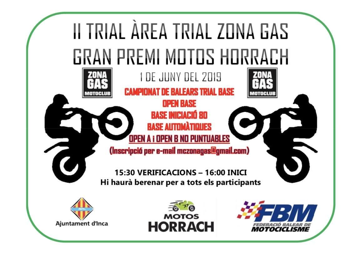Trial Zona Gas