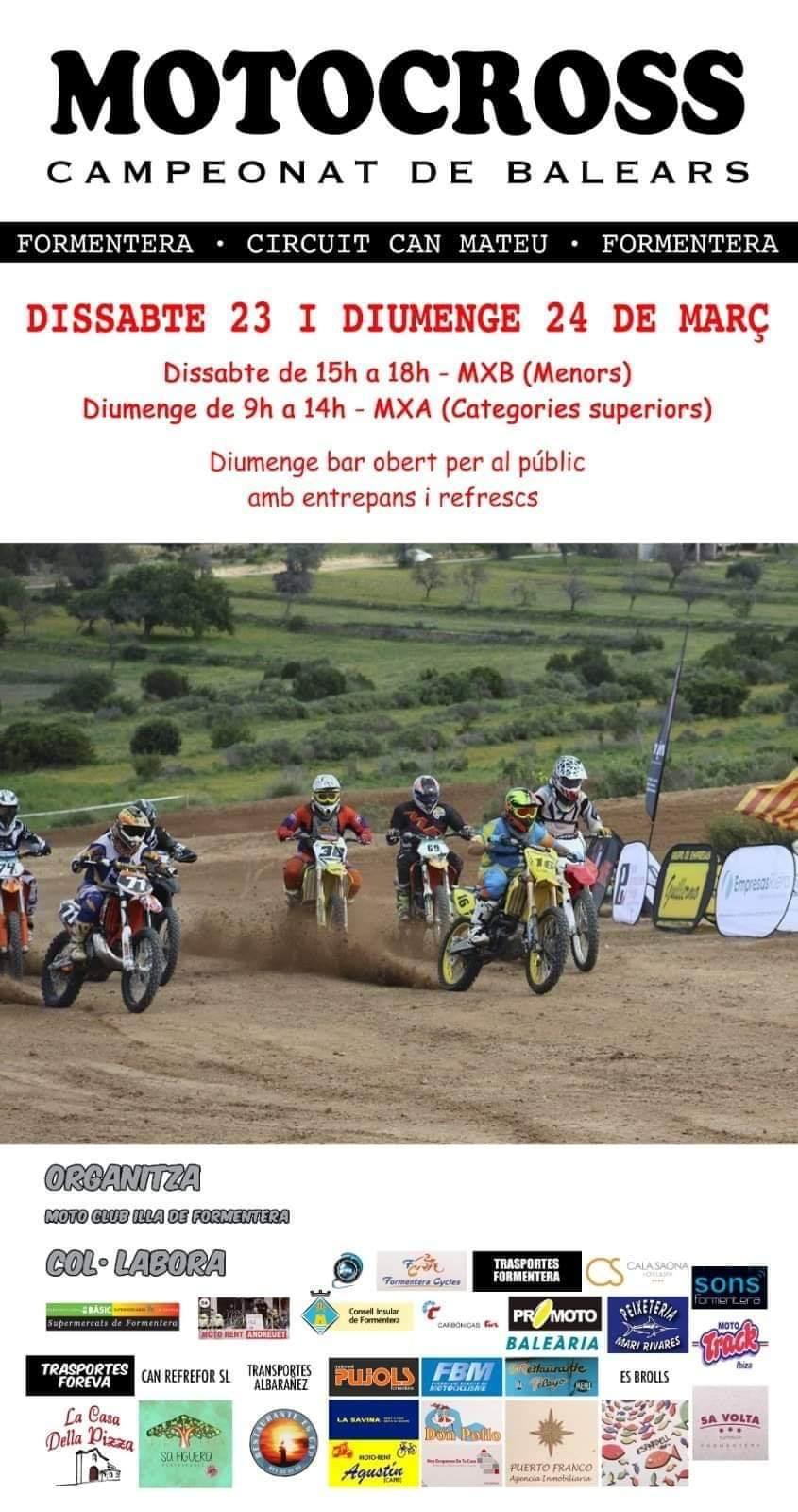 Motocross Formentera