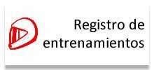 Registro de entrenamientos