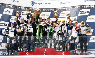 El Yamaha Racing –GMT 94 –Michelin, donde milita David Checa, 2º en la Bol d´Or