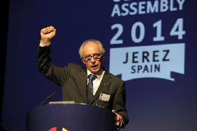 Vito Ippolito es reelegido presidente de la FIM