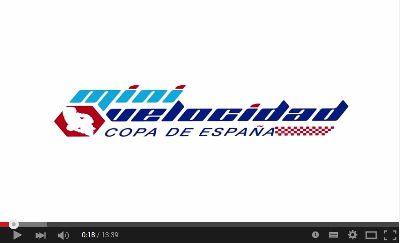 Reportaje Copa de España de Minivelocidad Zuera 2015