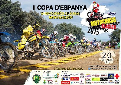 Montgai acoge la 2ª del nacional de Motocross Clásicas