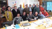Buena reunión con los organizadores del nacional de Enduro