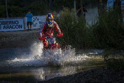 Victoria de Barreda en la Baja Aragón 2016