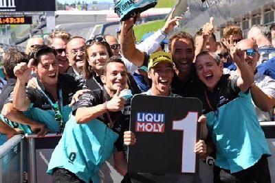 Sensacional primera victoria de Joan Mir en Moto3