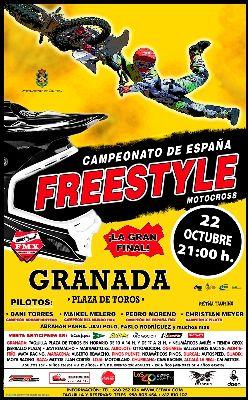 Granada, última prueba del nacional de Freestyle