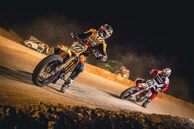 Cardús y Serra, campeón y subcampeón del nacional de Flat Track, correrán el Daytona TT