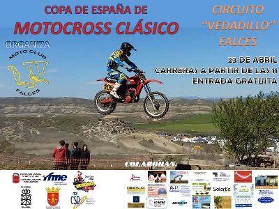 Falces, primera prueba del nacional de Motocross Clásico