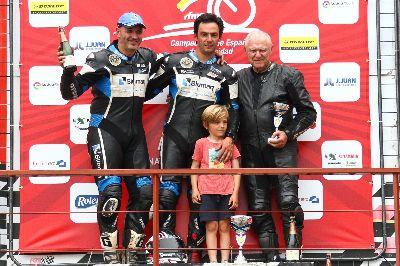 Irizabal, Andreu y Arnau se llevan la victoria en Alcarràs