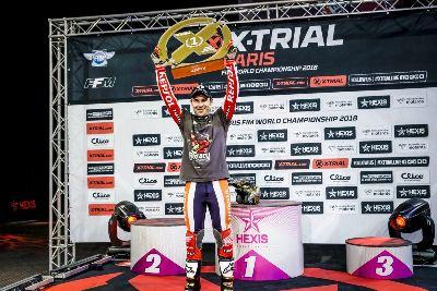 Toni Bou, más grande que nunca: en París logra el 12º título del Mundial de X-Trial
