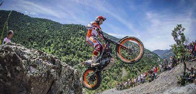 6 españoles suben al pódium en el Mundial de Trial de Andorra