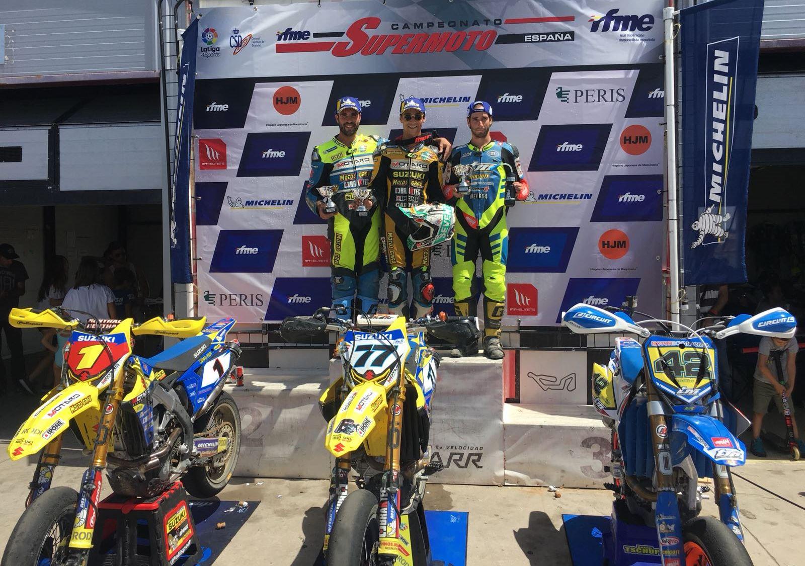 Circuito Kotarr : Rfme grandes carreras en el supermoto de kotarr con luchas por