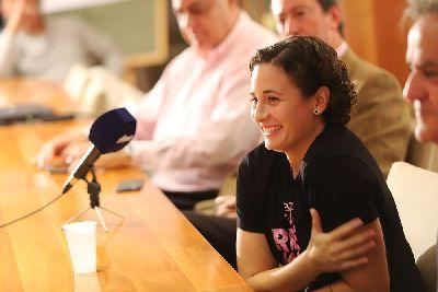 """Ana Carrasco: """"Tengo 21 años y me veo en MotoGP""""."""