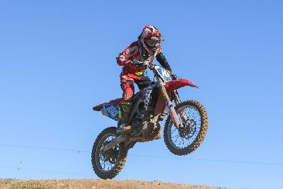 Miriam Mena, campeona de España de Motocross