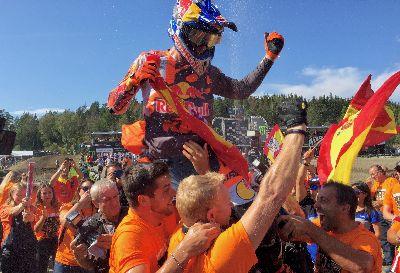MXGP: ¡¡Jorge Prado, campeón del mundo de MX2 por segundo año consecutivo!!