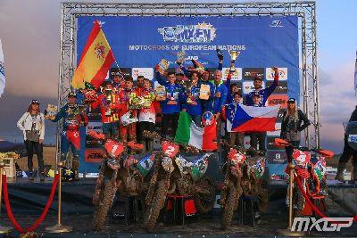 España, subcampeona del Motocross de las Naciones Europeas
