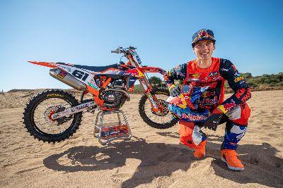 Jorge Prado correrá el Campeonato de España de Motocross
