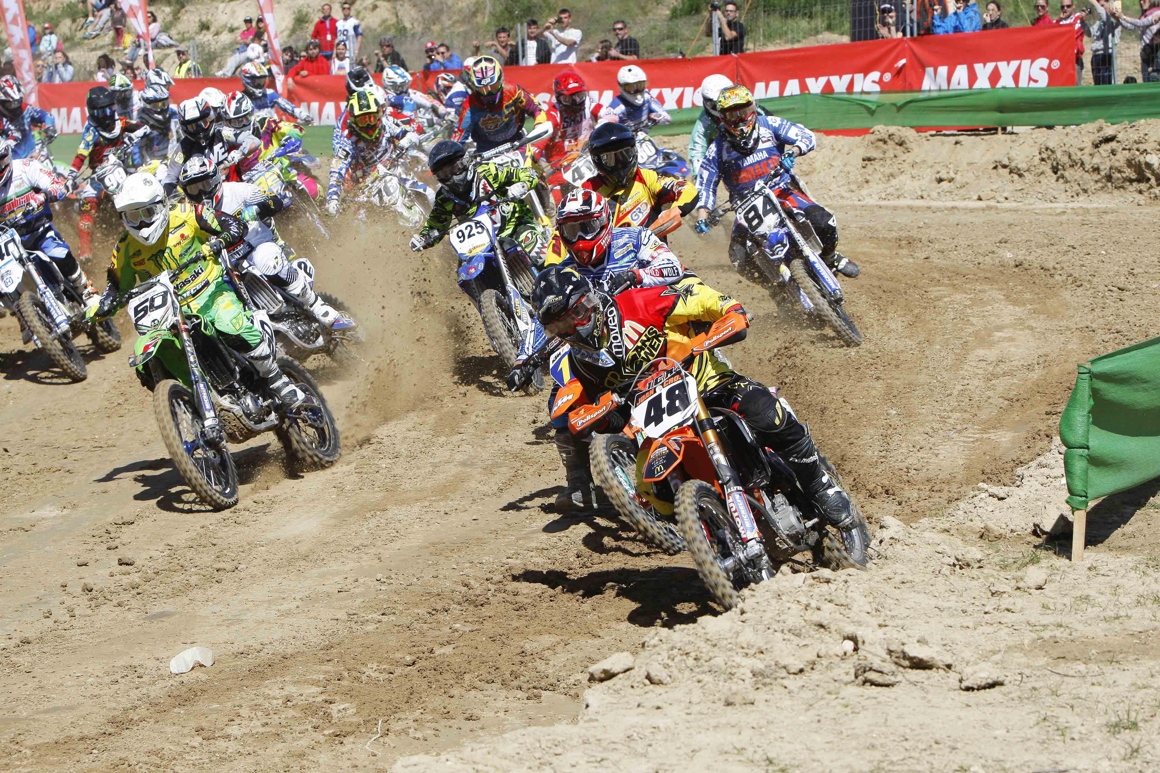 Motocross de talavera buen papel de los canarios jon 225 s guedes y