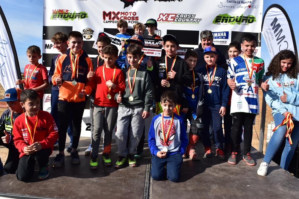 Gran inauguración del Campeonato Castilla-La Mancha de Motocross