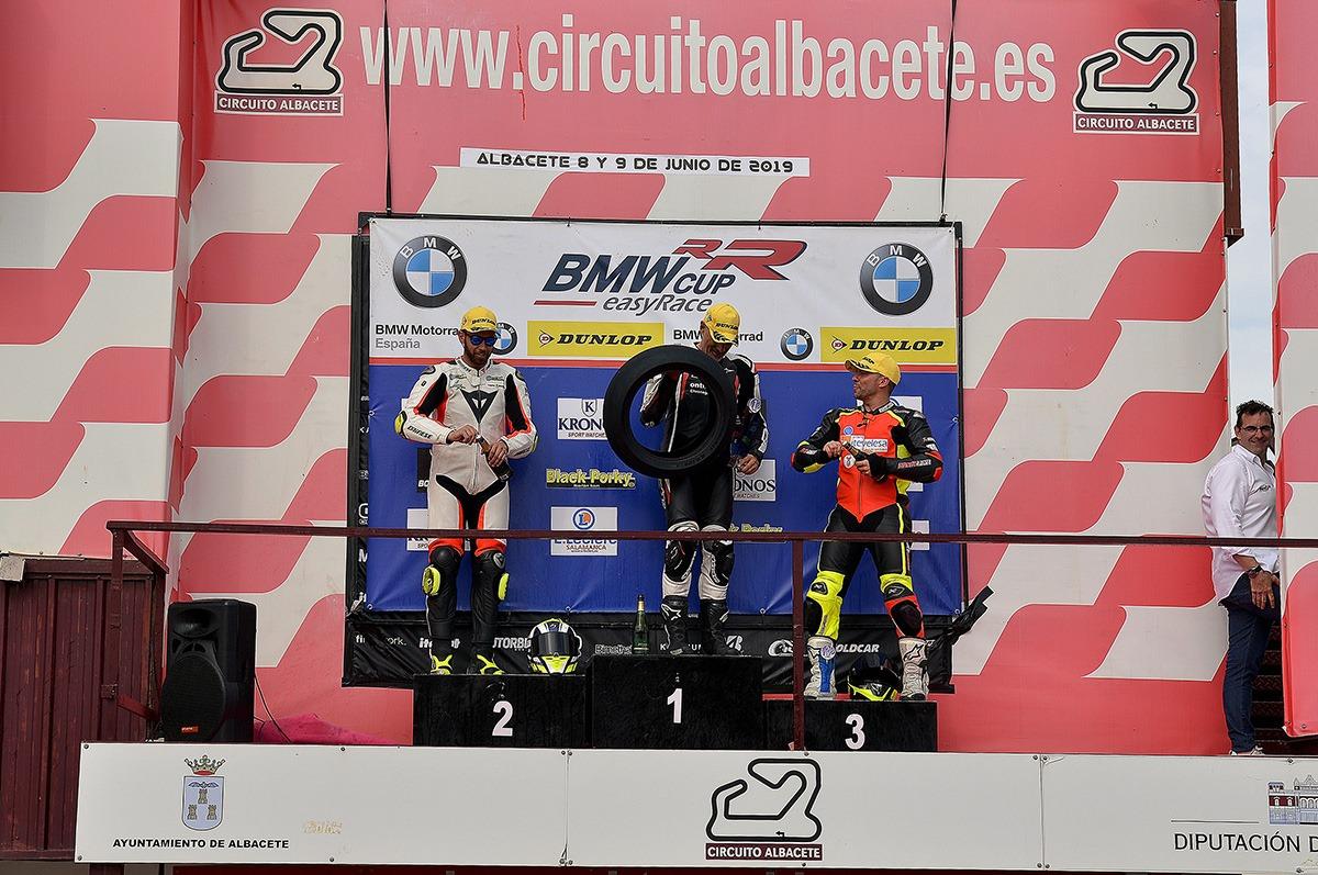 La Copa S1000RR easyRace en el circuito de Albacete