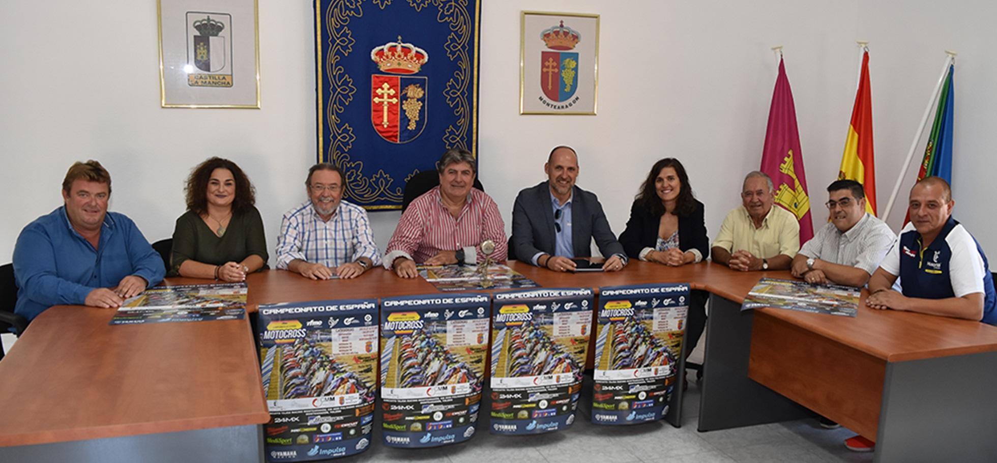 Presentación Campeonato de España Motocross Montearagón