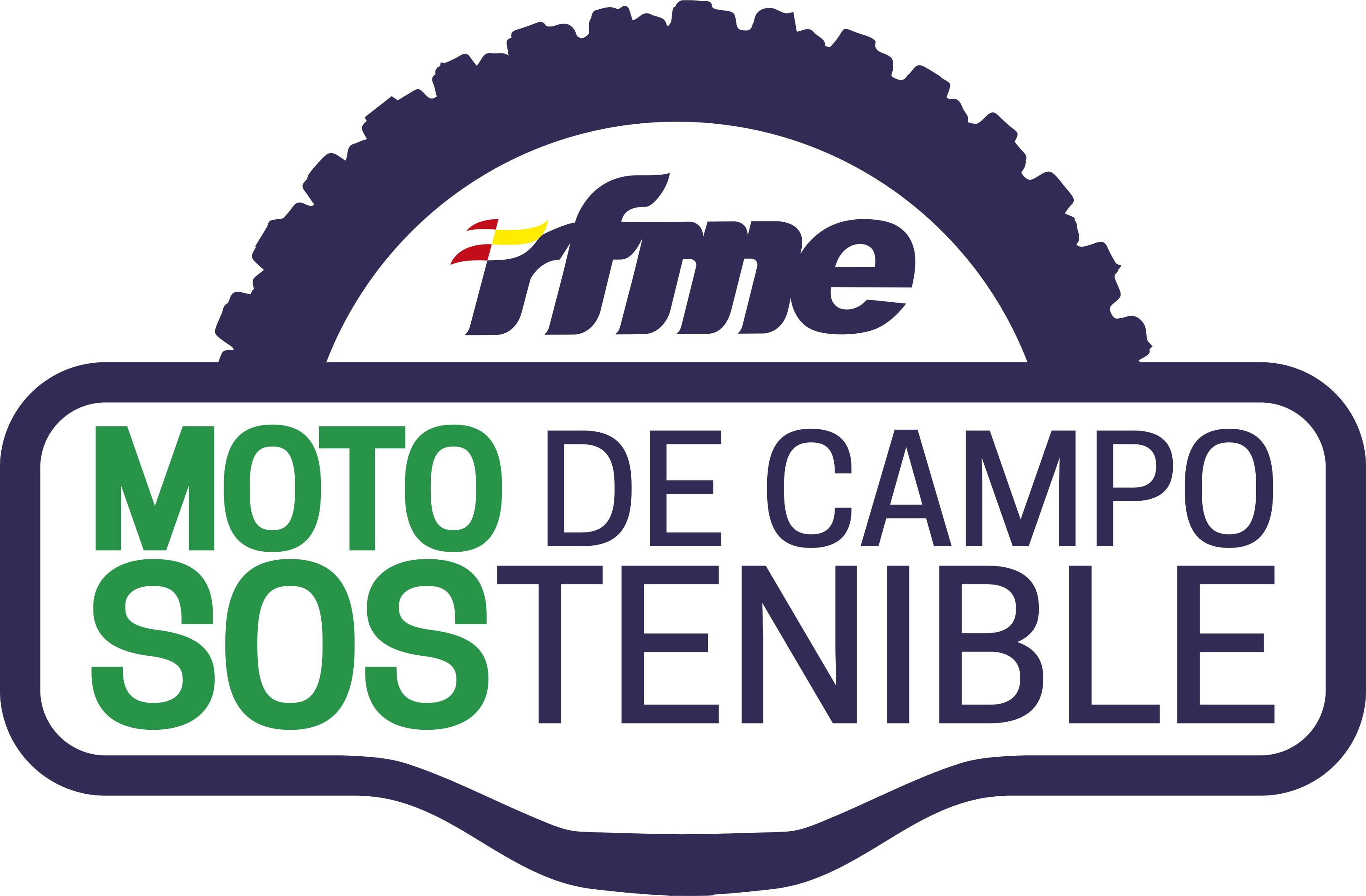 Atractivo acuerdo de Moto de Campo Sostenible