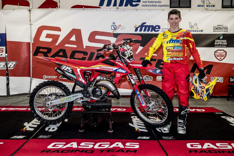 ¡David Beltrán miembro del nuevo RFME MX Junior Team 2021!
