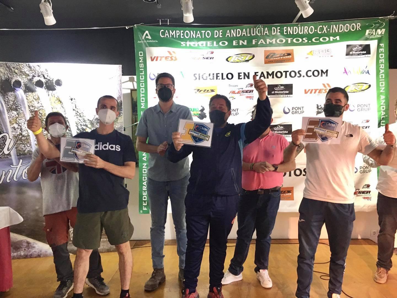 """Carlos Camacho, Jose González, Mario Bravo """"trío de ases"""""""